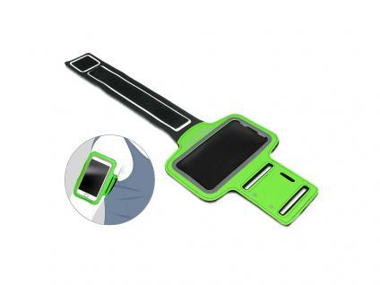 Sportarmband für Smartphone, grün, Delock® [20644]