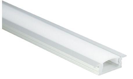Al-Profil für LED-Leisten, 24, 4 x 8, 1mm, 1m