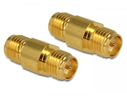 Adapter, HF RP-SMA Buchse an RP-SMA Buchse, Delock® [88737]