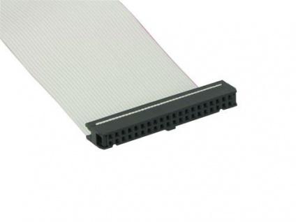 IDE Flachbandkabel für den Anschluss 1er Festplatte, 40-adrig, ca. 30cm, Good...