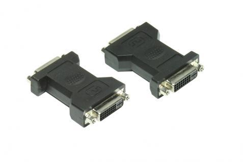 kabelmeister® Adapter DVI-Buchse 24+1 an DVI-Buchse 24+1