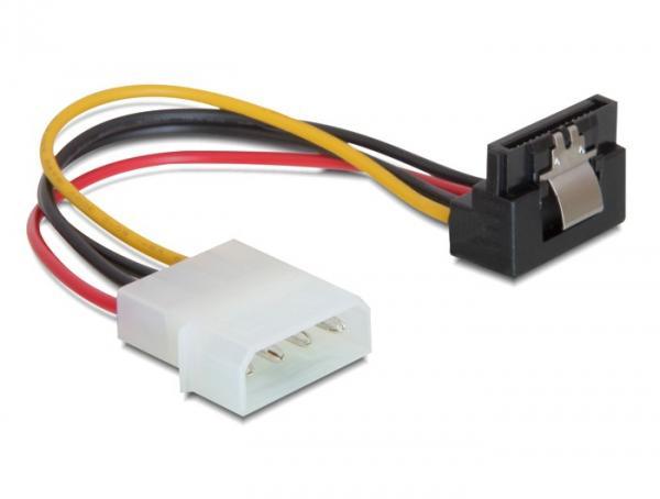 Kabel Power SATA HDD mit Metallclip > 4pin Stecker- gewinkelt, Delock® [60121]