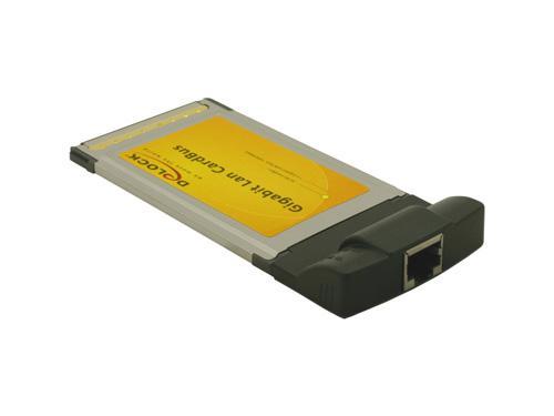 PCMCIA CardBus zu 1x Gigabit LAN, Delock® [61611]