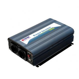 Spannungswandler, 24V auf 220 V, Dauerleistung: 1000 W, Spitzenleistung: 2500 W, Titan® [HW-1000V7]