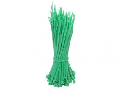 Kabelbinder 100mm grün, 100 Stk, Good Connections®