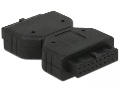 Adapter USB 3.0 Pfostenbuchse an Pfostenbuchse, Delock® [65679]