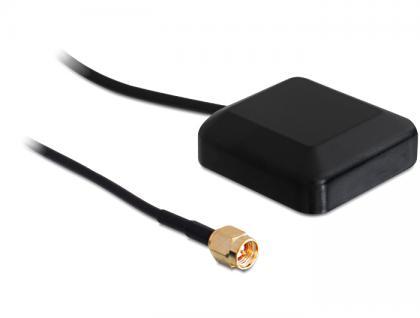 NL-69AT SMA GPS Antenne, 3m, Navilock® [60506]