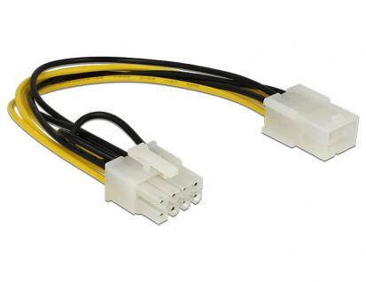 PCI Express 6Pin Buchse an 8Pin Stecker, Delock® [83775]