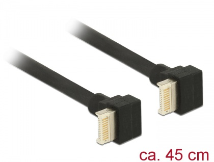 Kabel USB 3.1 Gen. 2 Key B 20 Pin Stecker an USB 3.1 Gen. 2 Key B 20 Pin Stecker, 0, 45 m, Delock® [85328]