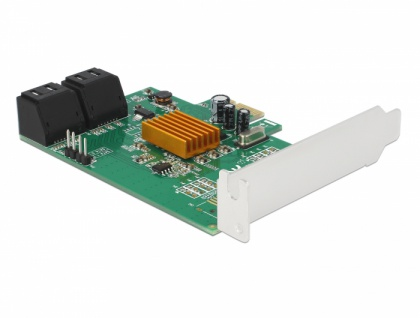 4 Port SATA PCI Express Karte, Delock® [90382]