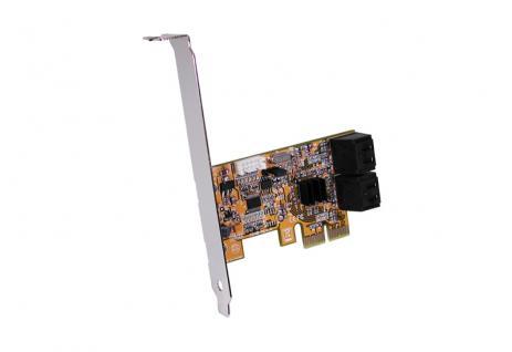 SATA 3 PCI Express RAID 0/1 Controller für 4HDD, Exsys® [EX-3516]