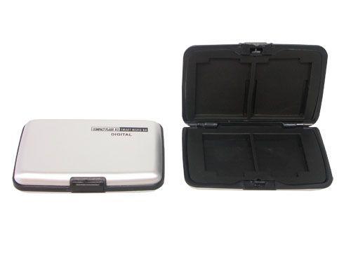 Aluminium Case für 4x SM + 2x CF Karten