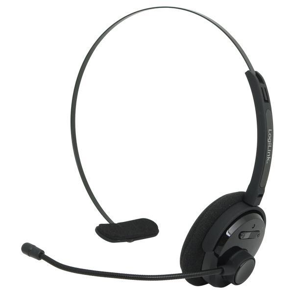 Headset, Mono, Bluetooth, LogiLink®, [BT0027]
