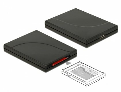 USB Type-C™ Card Reader für CFexpress Speicherkarten, Delock® [91749]