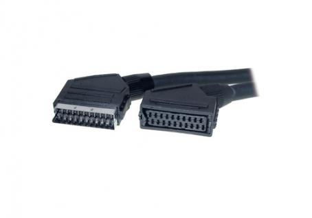 Verlängerungskabel Scart Stecker an Buchse, 1, 8m, Good Connections®
