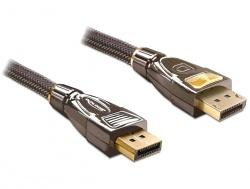 Anschlusskabel, Displayport Stecker zu Stecker, 1m, PREMIUM, Delock® [82770]