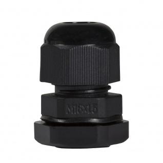 Kabelverschraubung M16, 10 Stück, IP68, schwarz, LogiLink® [CG0M16B]