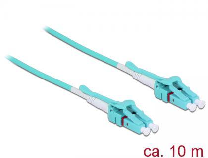 Kabel Lichtwellenleiter LC an LC Multimode OM3, Uniboot, 10m, Delock® [85131]