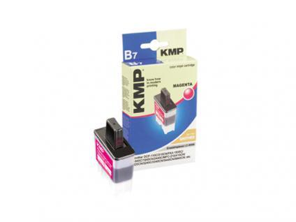 KMP Tintenpatrone kompatibel mit kompatibel mit Brother LC-900M, LC-41M