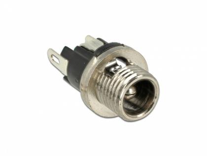 Steckverbinder DC 5, 5 x 2, 5 x 9, 5 mm Buchse zum Einbau, Delock® [89911]
