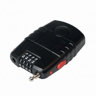 Universal 4 stelliges Kombinationsschloss mit Alarm, Schwarz, LogiLink® [SC0212]