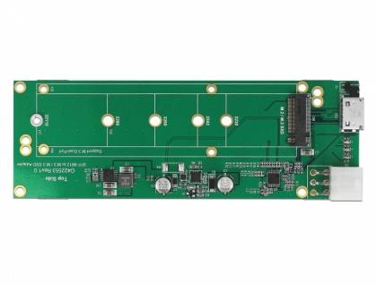Konverter SFF-8612 zu 1x M.2 Key M Slot, Delock® [64041]