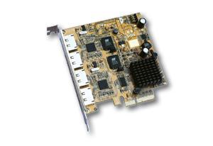 eSATA II RAID 0/1 PCI Express Controller mit 4 Externen Anschlüssen, Exsys® [EX-3504] - Vorschau