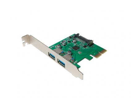 PCI Express Karte, 2x USB 3.1, LogiLink® [PC0080]