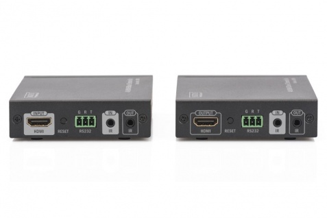 4K HDMI Extender Set, HDBaseT™, 4K/60Hz, 100m, Digitus® [DS-55504]