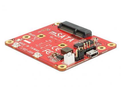 Konverter Raspberry Pi USB 2.0 an mSATA, Delock® [62648]