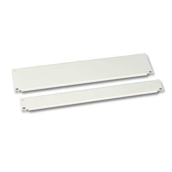 Blindplatte 19'/2HE RAL7035