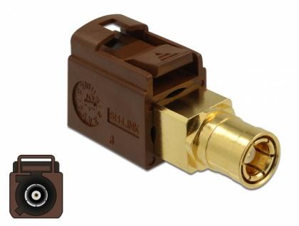 Adapter FAKRA F Buchse an SMB Buchse, Delock® [89682]