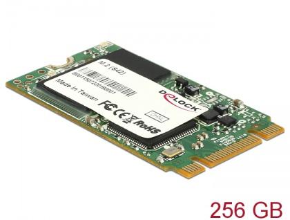 M.2 SATA 6 Gb/s SSD Industrial 256 GB (S42) Toshiba MLC -40 ____deg; C ~ 85 ____deg; C, Delock® [54793]