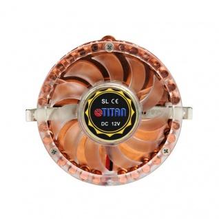 Titan® VGA- und Chipsatz-Kupferkühler, 50mm, 4500RPM, Montagesatz, [TTC-CUV4AB(RB)]