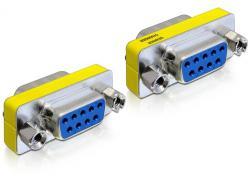 Adapter, Sub-D9 Buchse an Buchse, Delock® [65008]