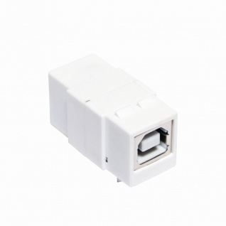 Keystone Modular Verbinder USB 2.0 Buchse B an USB 2.0 Buchse B, LogiLink® [NK0016]
