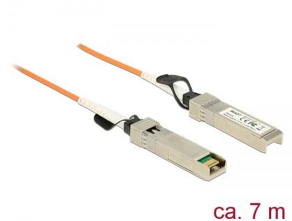 Aktives Optisches Kabel SFP+ Stecker an Stecker, 7m , Delock® [86437]