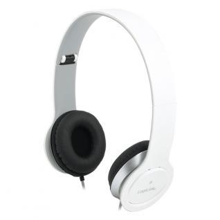 Kopfhörer, stereo, High Quality, weiß, LogiLink®, [HS0029]