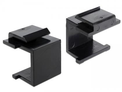 Keystone Abdeckung, schwarz, Delock® [86321]