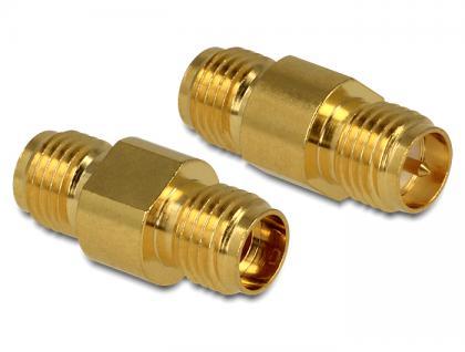 Adapter, HF RP-SMA Buchse an SMA Buchse, Delock® [88736]