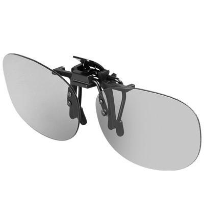 3D Zirkular-Polfilter-Aufsteckbrille