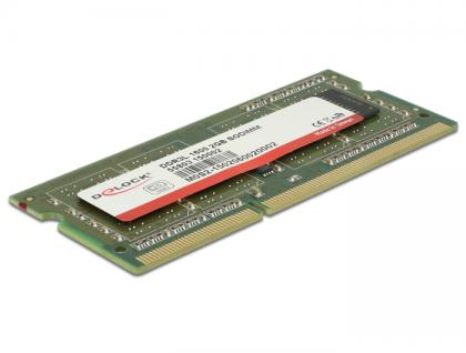 DIMM SO-DDR3L 2 GB 1600MHz 1, 35 V / 1, 5 V Industrial, Delock® [55803]