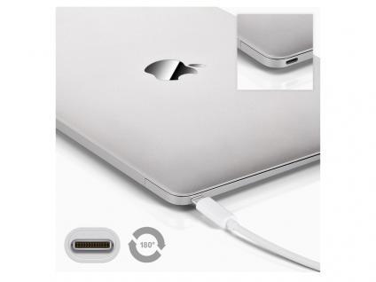 USB-C Multiport Adapter, USB-Hub, USB-C Stecker an Ethernet Anschluss und 2x USB 3.0 A-Buchse