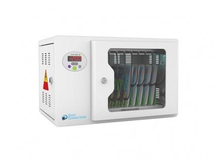 Good Connections® ANTARES T10 Tablet-Ladeschrank, UV-C Desinfektion, grau