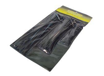Kabelbinderset 85-teilig, schwarz, diverse Längen - Vorschau
