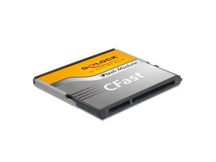 CFast 2.0 Flash Card SATA 6 Gb/s, 16 GB, Typ MLC, Delock® [54649]