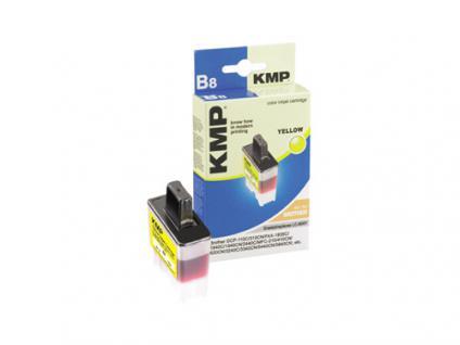 KMP Tintenpatrone kompatibel mit kompatibel mit Brother LC-900Y, LC-41Y