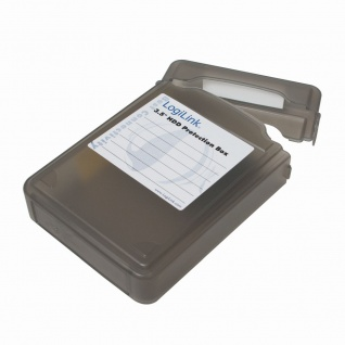 Festplatten Schutz-Box für 3, 5' HDDs, Schwarz, LogiLink® [UA0133B]