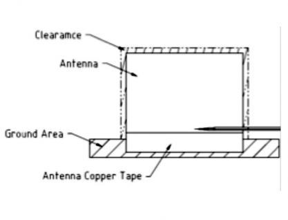 Antenne LTE MHF/U.FL-LP-068 kompatibler Stecker 2 ~ 3, 5 dBi 150 mm PCB intern, Delock® [88981]