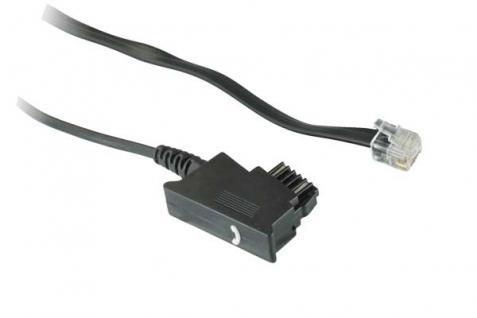 kabelmeister® Telefonanschlusskabel, TSS auf Modular Stecker 6/6, 3m
